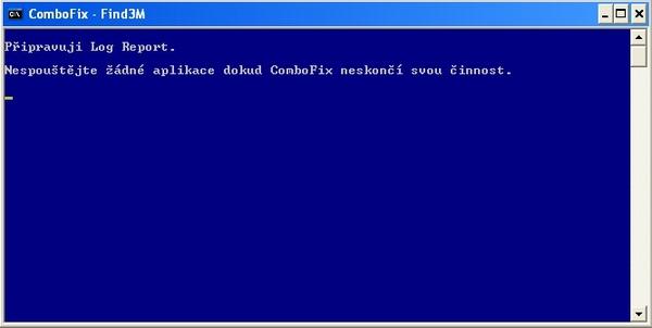 ComboFix připravuje log