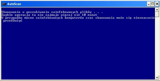 ComboFix przeprowadza skanowanie komputera w poszukiwaniu zagrożeń
