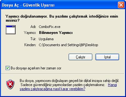 Windows Open File Security Warning