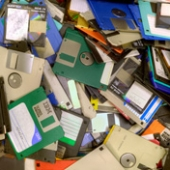 U.S.A's Nuclear Defense Program is run from Floppy Disks Image