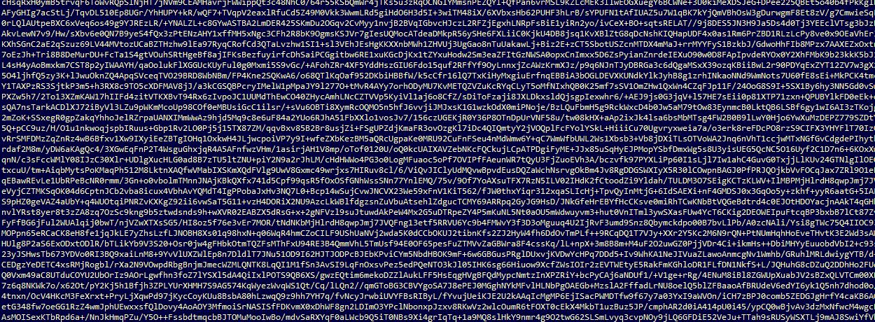Encrypted code