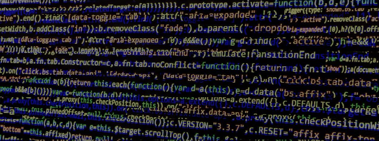 Mangled source code