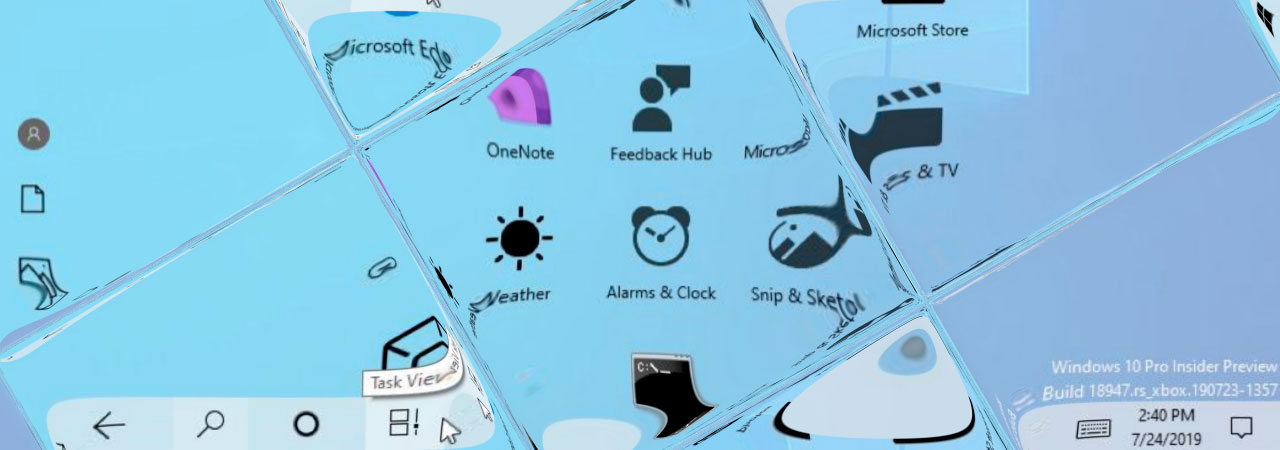 Microsoft Unveils Their New Windows 10 System Icons