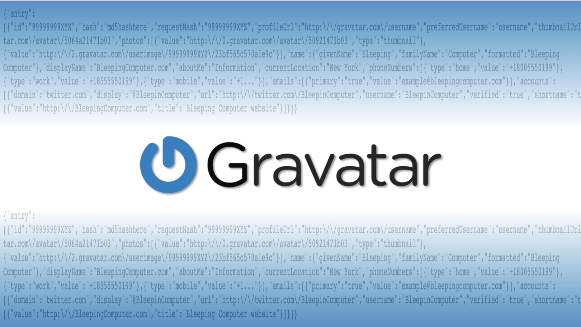 Online avatar service Gravatar allows mass collection of user info - RapidAPI