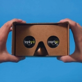 The New York Times goes Virtual with Google Cardboard Viewer Image