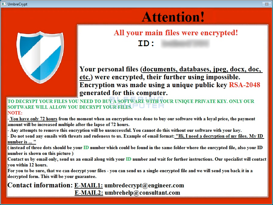 how to remove ransomware virus from hp manually