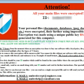 UmbreCrypt Ransomware manually installed via Terminal Services Image