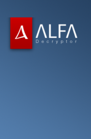 New Alfa, or Alpha, Ransomware from the same devs as Cerber