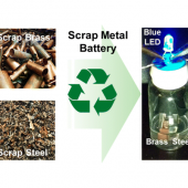 Vanderbilt Researchers Create High-Performance Batteries from Scrap Metal Image