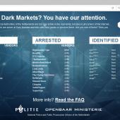 Dutch Police Posts Grim Warning on Seized Dark Web Marketplace Image