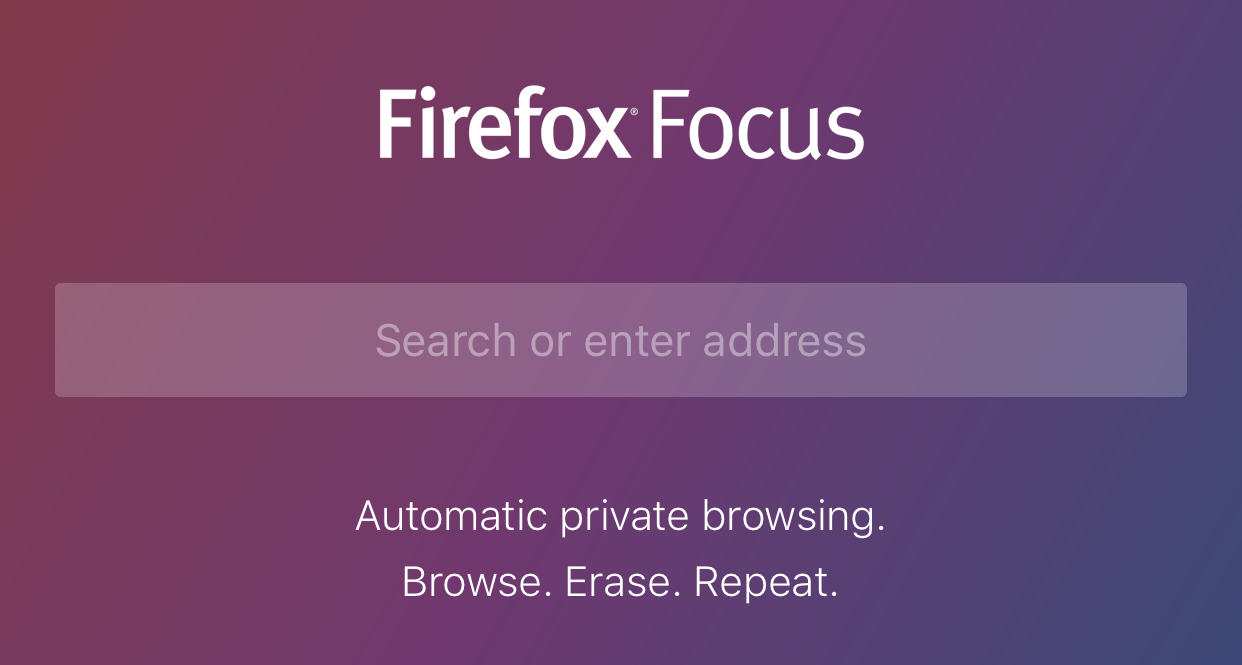 Mozilla launches 'Firefox Focus', a private browser for the iOS