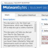 Telecrypt Ransomware Cracked, Free Decryptor Released by Malwarebytes Image