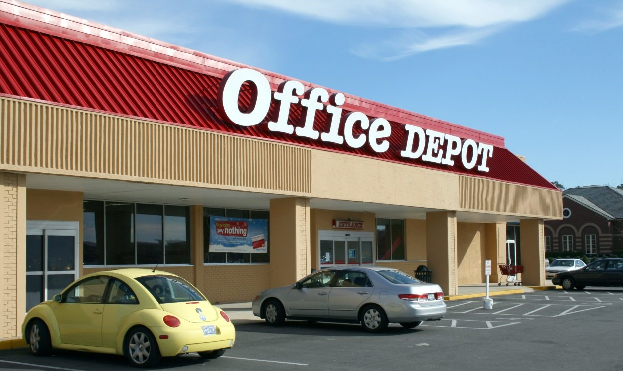 Office Depot Services Register New Product -