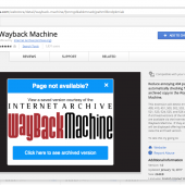 Internet Archive Launches Chrome Extension That Replaces 404 Pages With Archived Copies Image