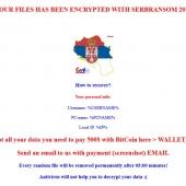 Ultranationalist Developer Behind SerbRansom Ransomware Image