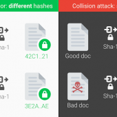 Google Announces First-Ever SHA1 Collision Attack Image