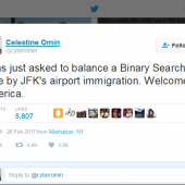 Border Agents Detain Programmer, Give Him Quiz to Prove He's a Software Engineer Image