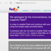 FedEx Will Give You $5 If You Install Flash Image
