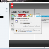 Skype Malvertising Campaign Pushes Fake Flash Player Image