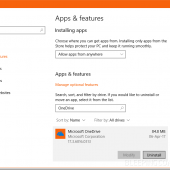 Windows 10 Creators Update Lets You Uninstall OneDrive with One Click Image