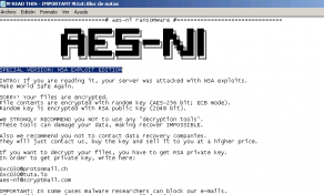 AES-NI Ransomware Dev Claims He's Using Shadow Brokers Exploits Image