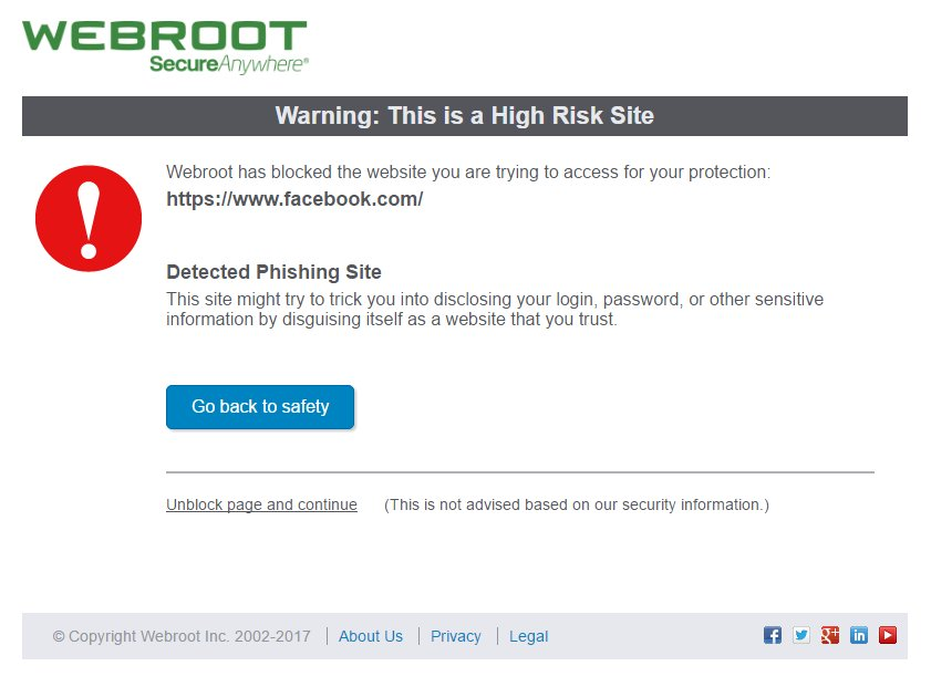 Webroot Antivirus Goes Off the Rails and Flags Windows