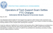FTC Shuts Down Tech Support Scammer Posing as FTC Collaborator Image