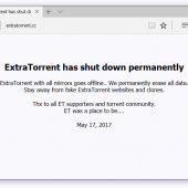 Popular Torrent Site ExtraTorrent Shuts Down out of the Blue Image