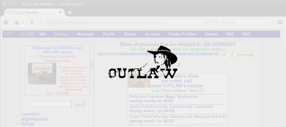 Outlaw market