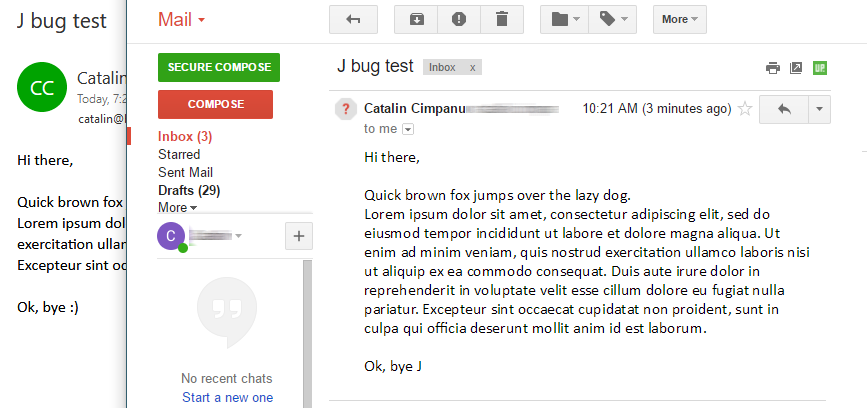 J bug