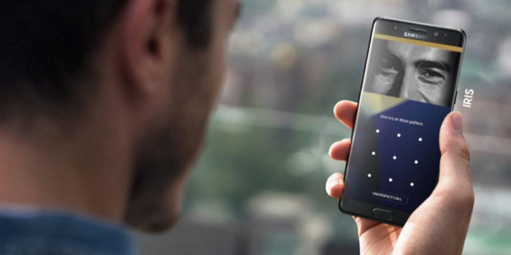 Samsungirisscanner