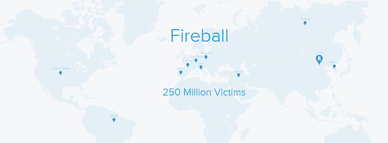 Fireball adware