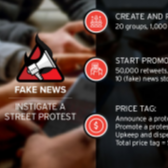A 12-Month Campaign of Fake News to Influence Elections Costs $400,000 Image