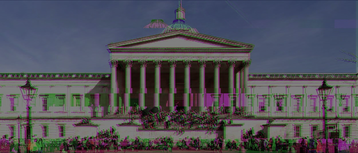 Edited photo of UCL building
