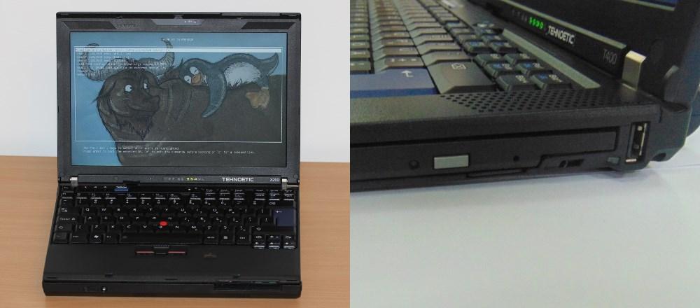 Technoethical laptop