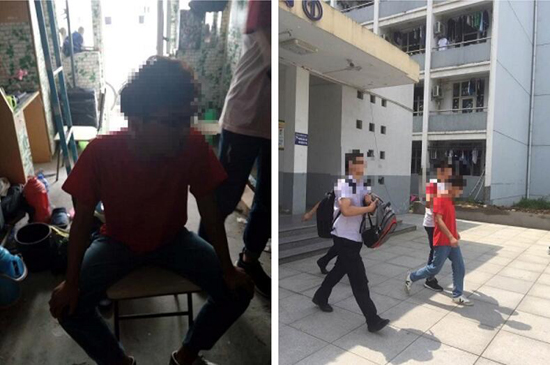 Police arresting ransomware author in Anyang, China