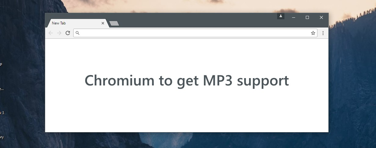 Chromium adds support for MP3