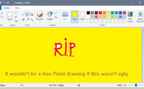 Microsoft to Remove Classic Paint App From Windows 10 This Fall Image