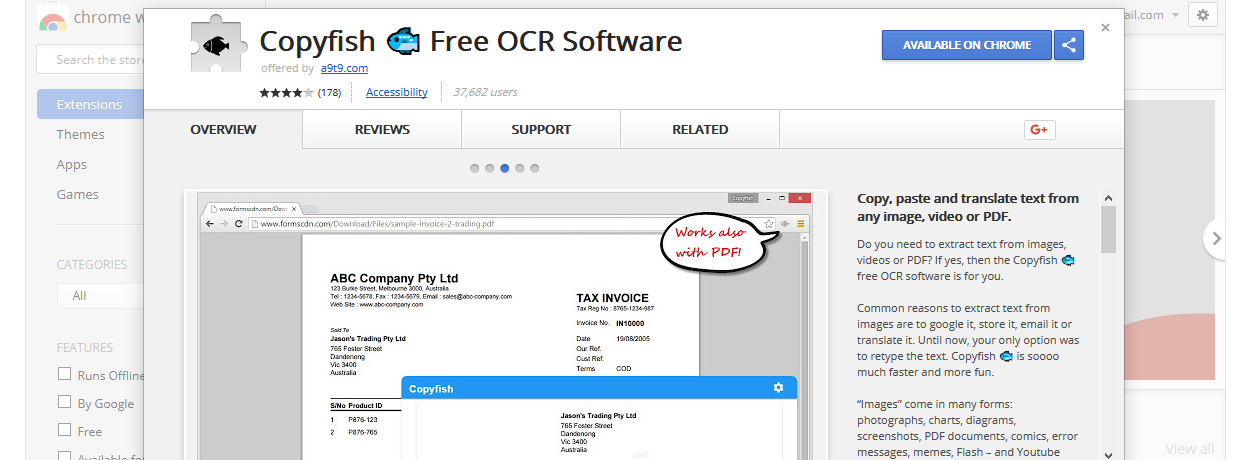 Copyfish Chrome Extension Hijacked To Show Adware