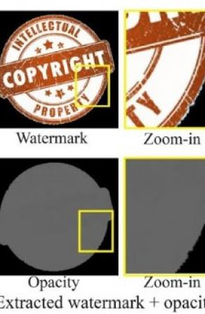 Google Algorithm Removes Watermarks From Stock Photos Image