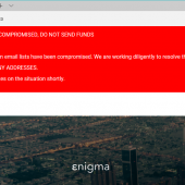 Hacker Steals $475,000 Worth of Ethereum After Breaching Enigma Project Image