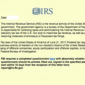 IRS Warns of Emails Spreading Ransomware Image