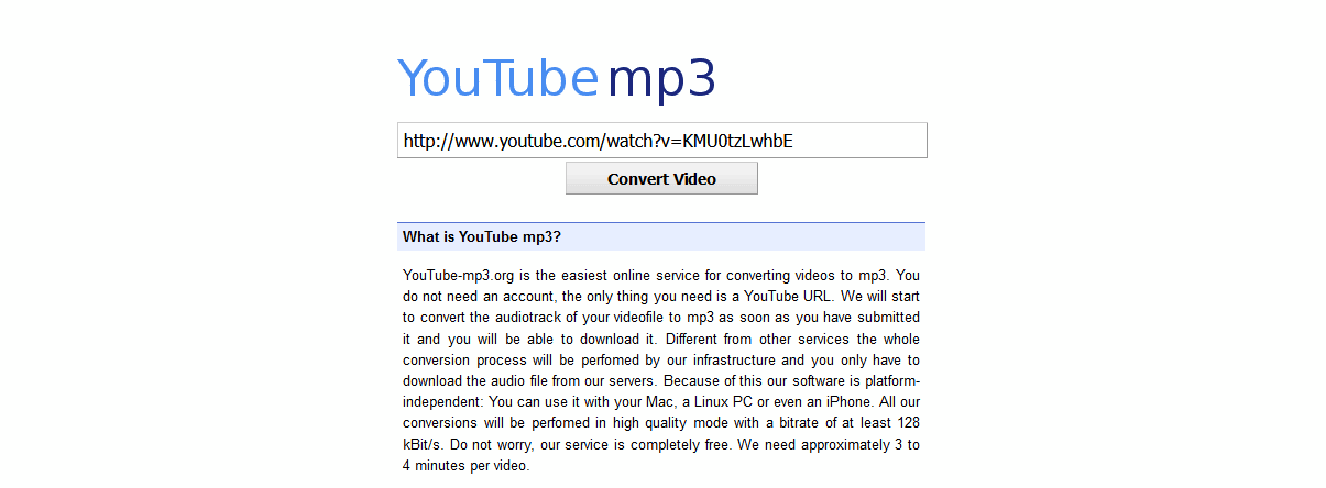 youtube convert videos to mp3