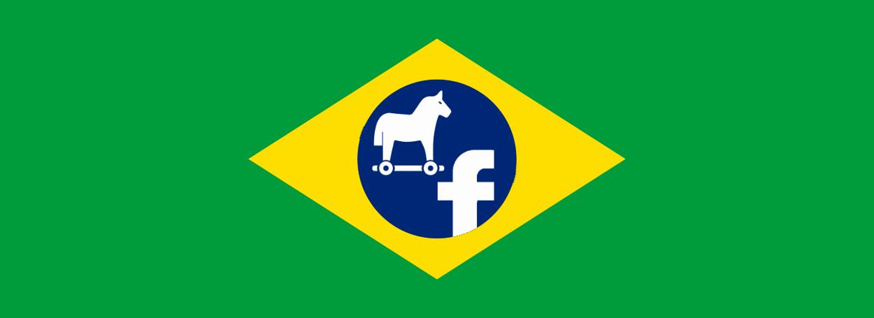 Brazil malware flag