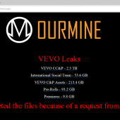 OurMine Hacks Vevo After Employee Was Disrespectful to Hackers on LinkedIn Image