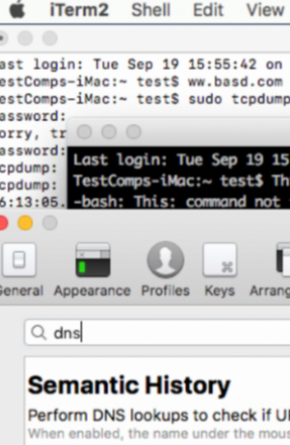 iTerm2 Leaks Everything You Hover in Your Terminal via DNS Requests Image