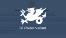 New Wyvern BTCWare Ransomware Released Image