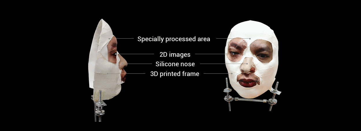 Mask to bypass Apple FaceID