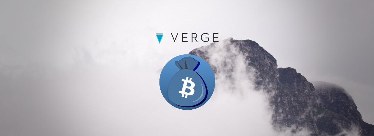 Verge and CoinPouch logos