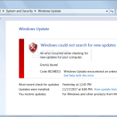 Windows 7 Update giving a 80248015 Error? Here's Why and How to Fix It. Image